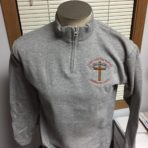 St. John Harrison – Adult Quarter Zip Sweatshirt
